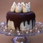 Le gâteau fantôme et son tuto déco