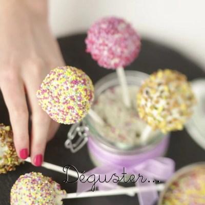 Cake pops en vidéo