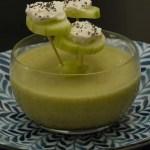 Piques de concombre au fromage frais