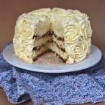 Parfait cheesecake new-yorkais et son glaçage en roses