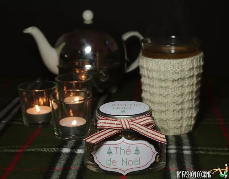 Calendrier de l 39 avent des cadeaux gourmands th de no l for Cadeaux de noel maison