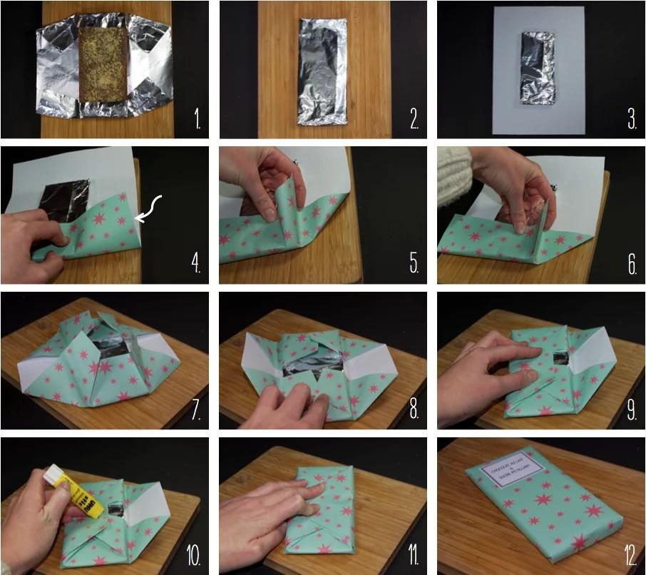 Bevorzugt DIY Tablettes de chocolat maison comme les Mast brothers - Cadeau  BQ04