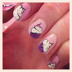 nail-art-cupcake