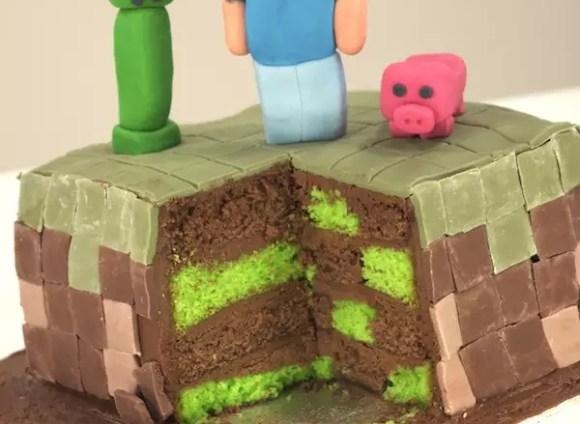 minecraft-cake