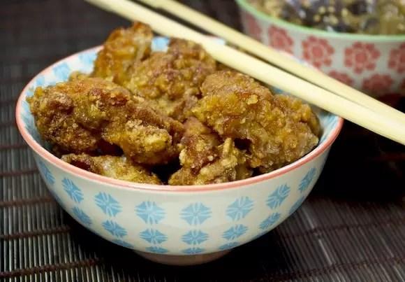 beignets poulet japonais karaage