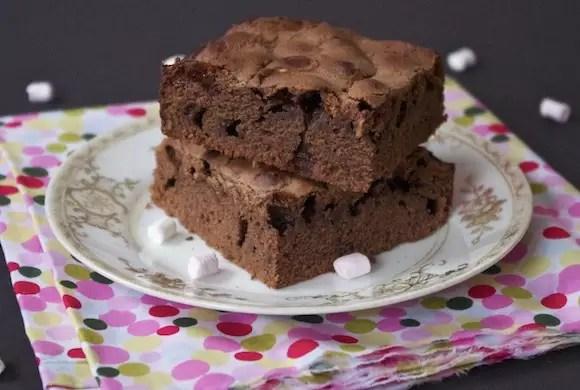 moelleux chocolat mini-chamallows
