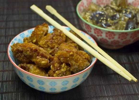 poulet karaage beignets japonais