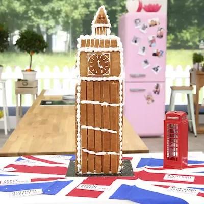 Big Ben en pain d'épices