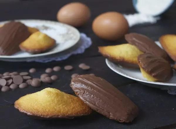 recette madeleines chocolat bonne maman Bonne maman, le choc et la bosse Madeleines vanille au chocolat