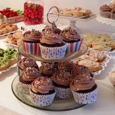 Cupcakes chocolat, buttecream meringue suisse au chocolat