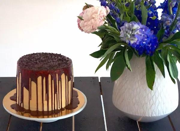 gateau-chocolat-glaçage-caramel