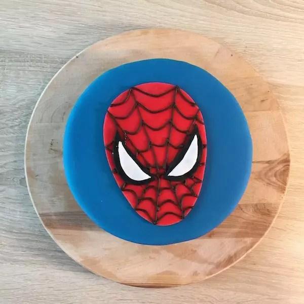 spiderman-cake-easy