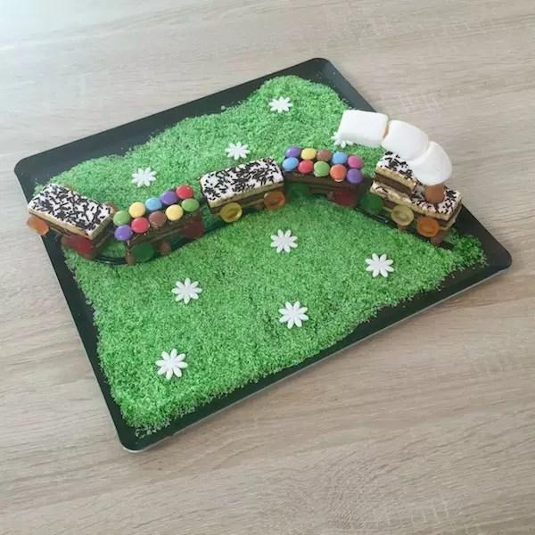 train-cake-easy