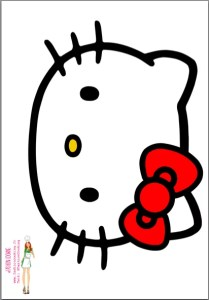 Capture gabarit hello kitty