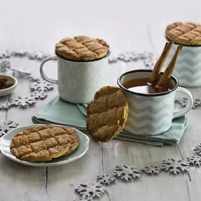 Cidre chaud & mug toppers cannelle