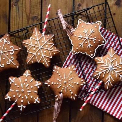 Flocons-pops en pain d'épices de la St Nicolas