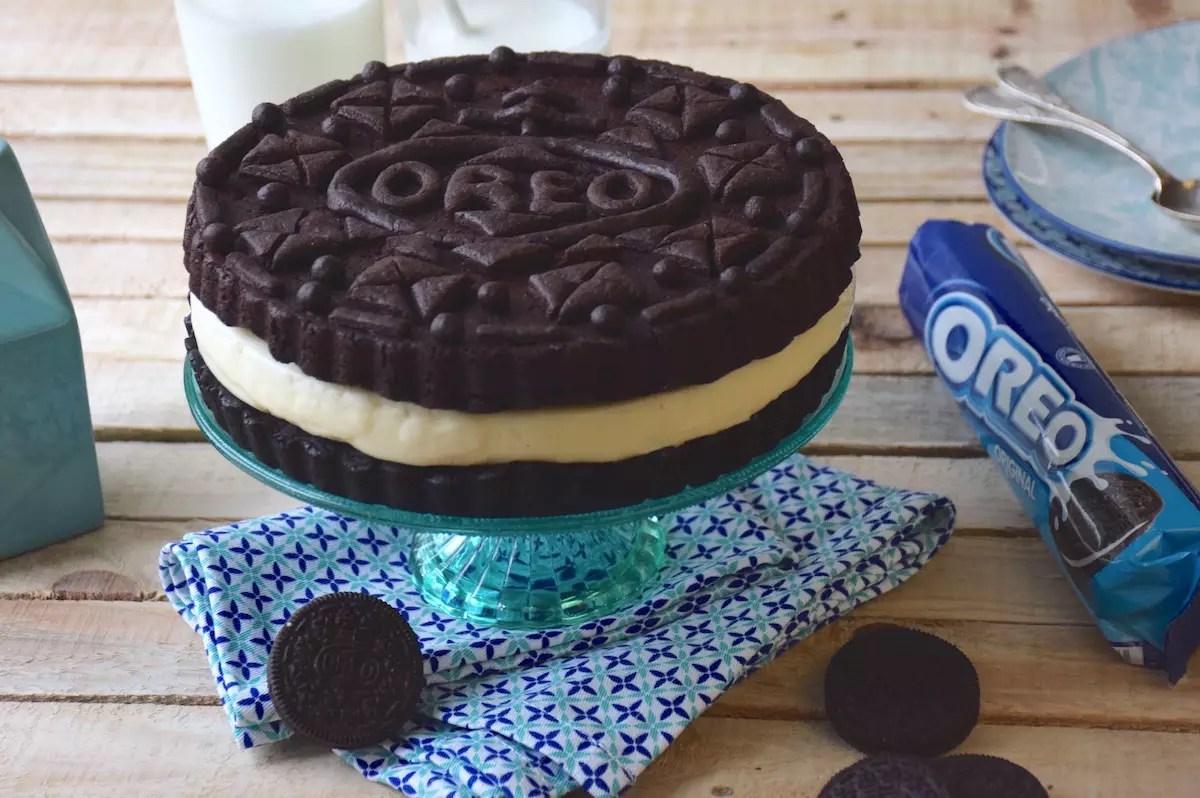 How To Make Big Oreo Cake