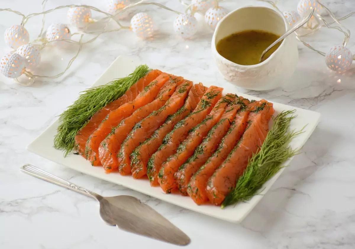 parfait saumon gravlax saumon frais marin l 39 aneth. Black Bedroom Furniture Sets. Home Design Ideas