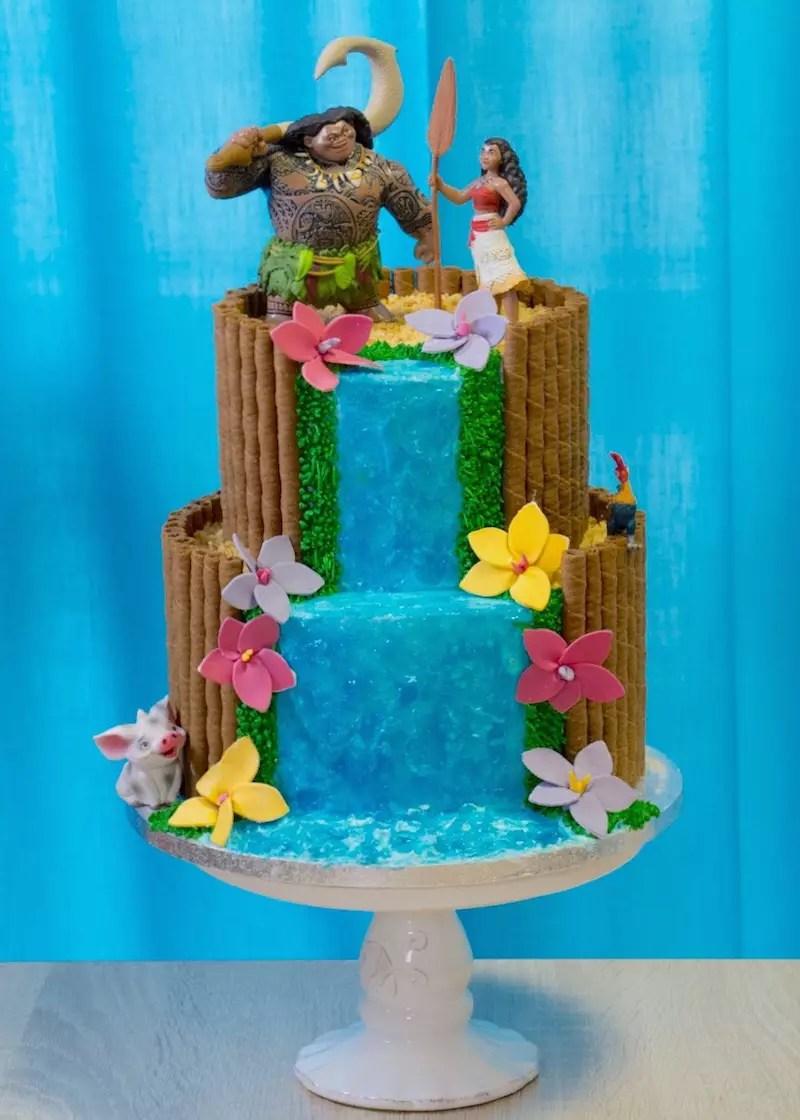 Gâteau Vaiana / Moana Cake