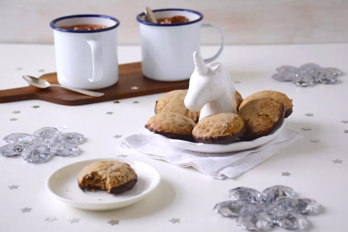 Lebkuchen, chocolate gingerbread