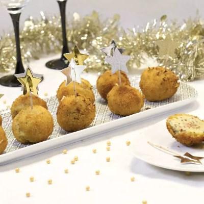 Cromesquis de pomme de terre au foie gras