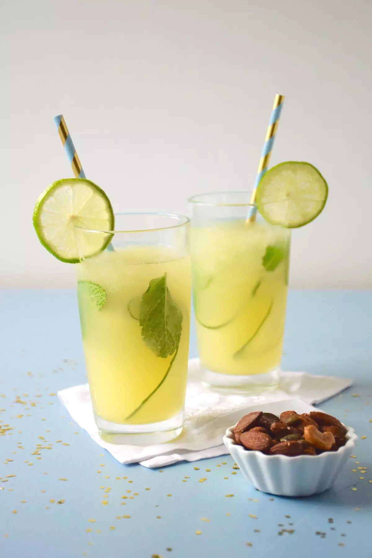 Mocktail apple cucumber