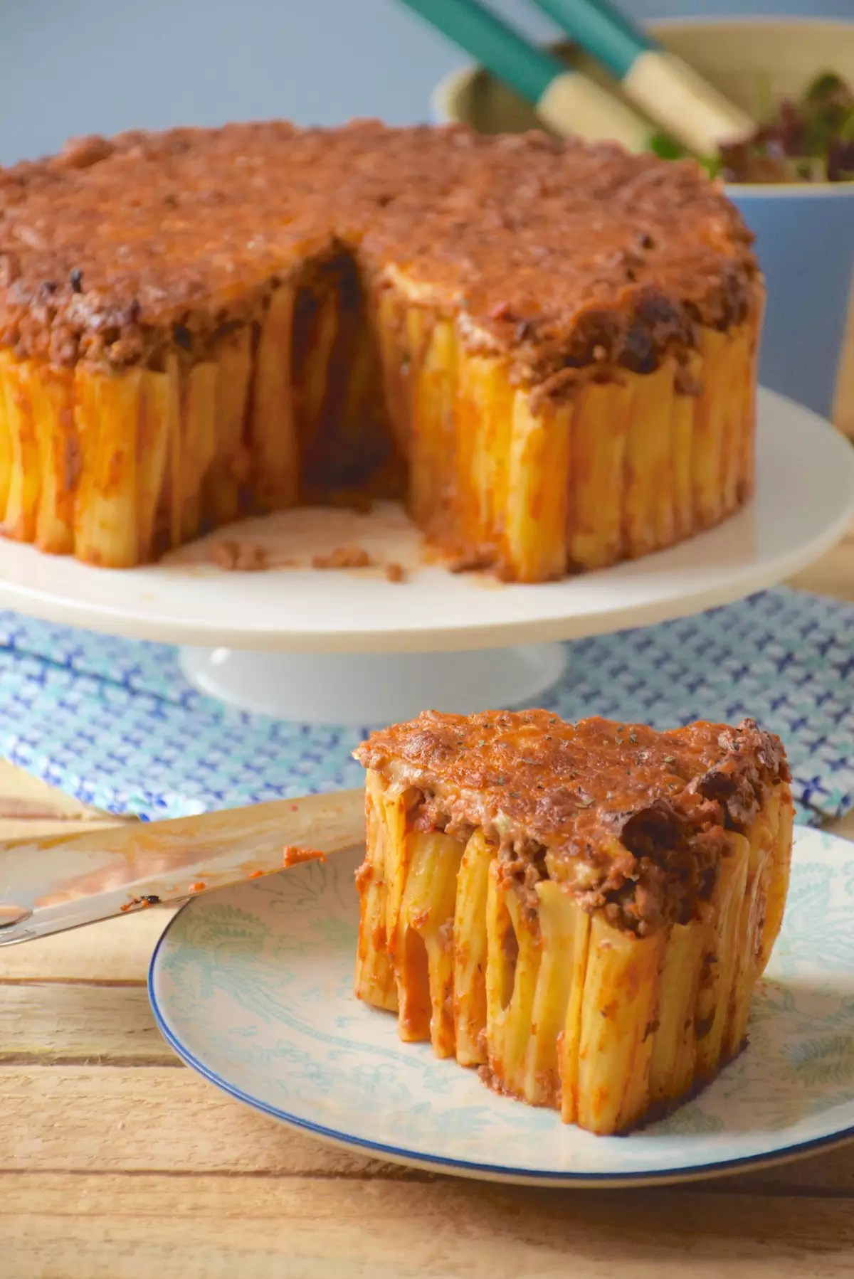 Gâteau de pâtes - Pasta pie