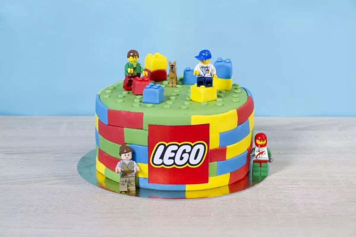Gâteau Lego facile