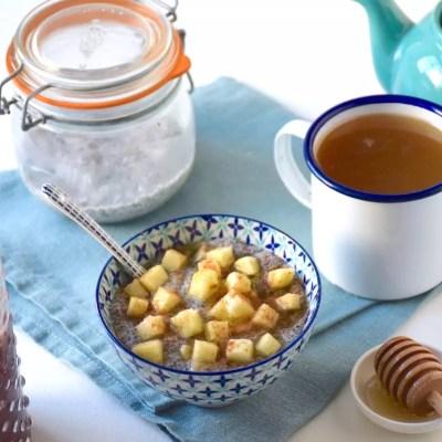 Porridge addict – Porridge de chia facile