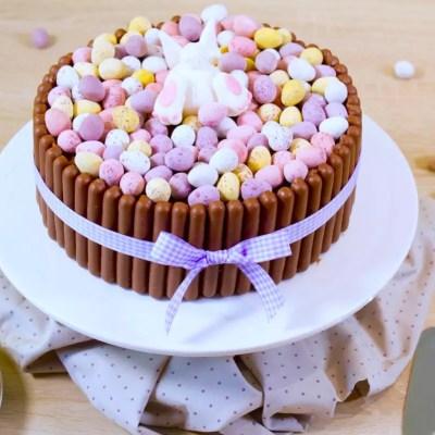 Gâteau de Pâques express – Gâteau queue de lapin