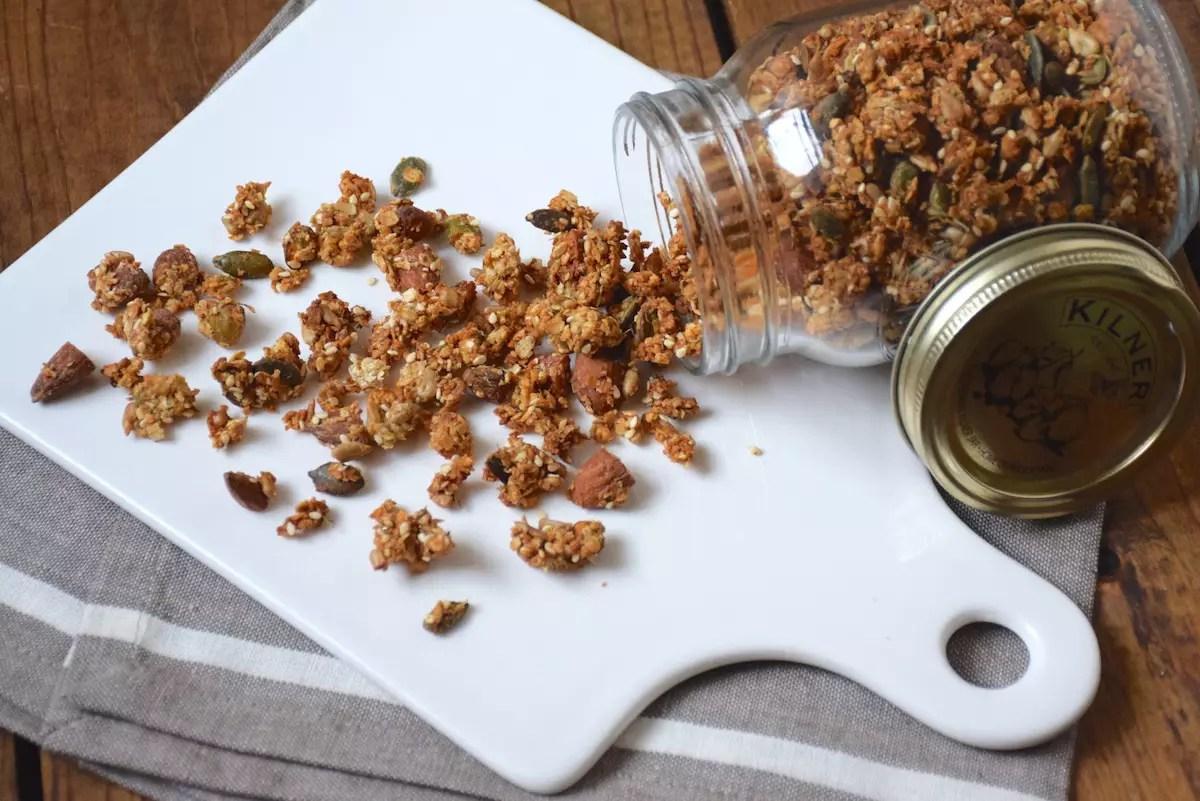 Granola salé pour l'apéritif
