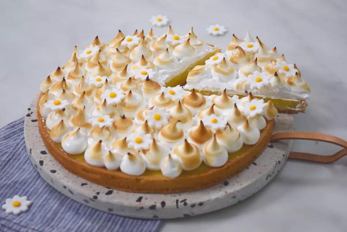 Parfaite tarte au citron meringuée