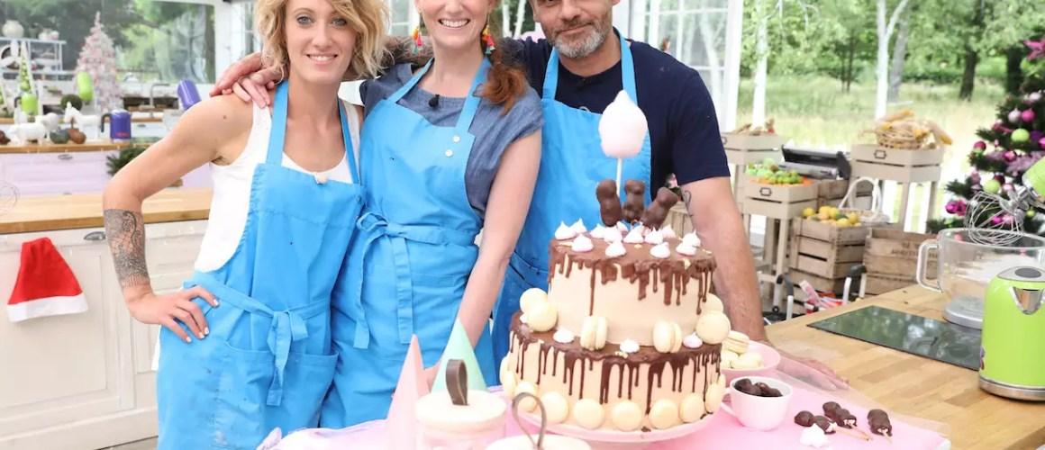Le Meilleur Pâtissier spécial Fêtes – Gâteau chocolat, poires & ganache montée aux Carambars