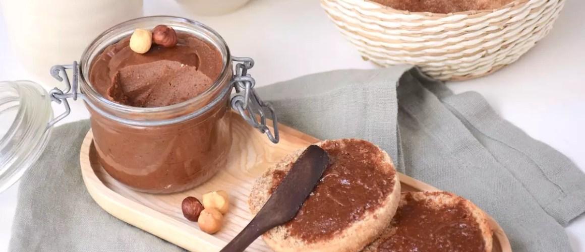 Nutella maison vegan – Pâte à tartiner choco noisettes sans lait