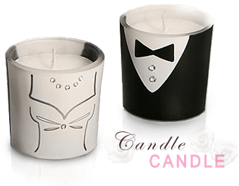 Candle Wedding Favors Wholesale   Floral  Heart Shaped and Other     Candle Wedding Favors