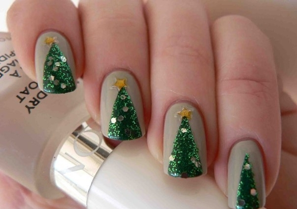 Cute Christmas Nail Art Designs And Ideas0181