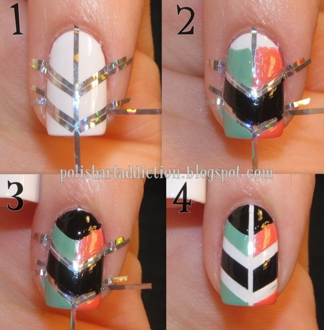 Easy Nail Art Steps