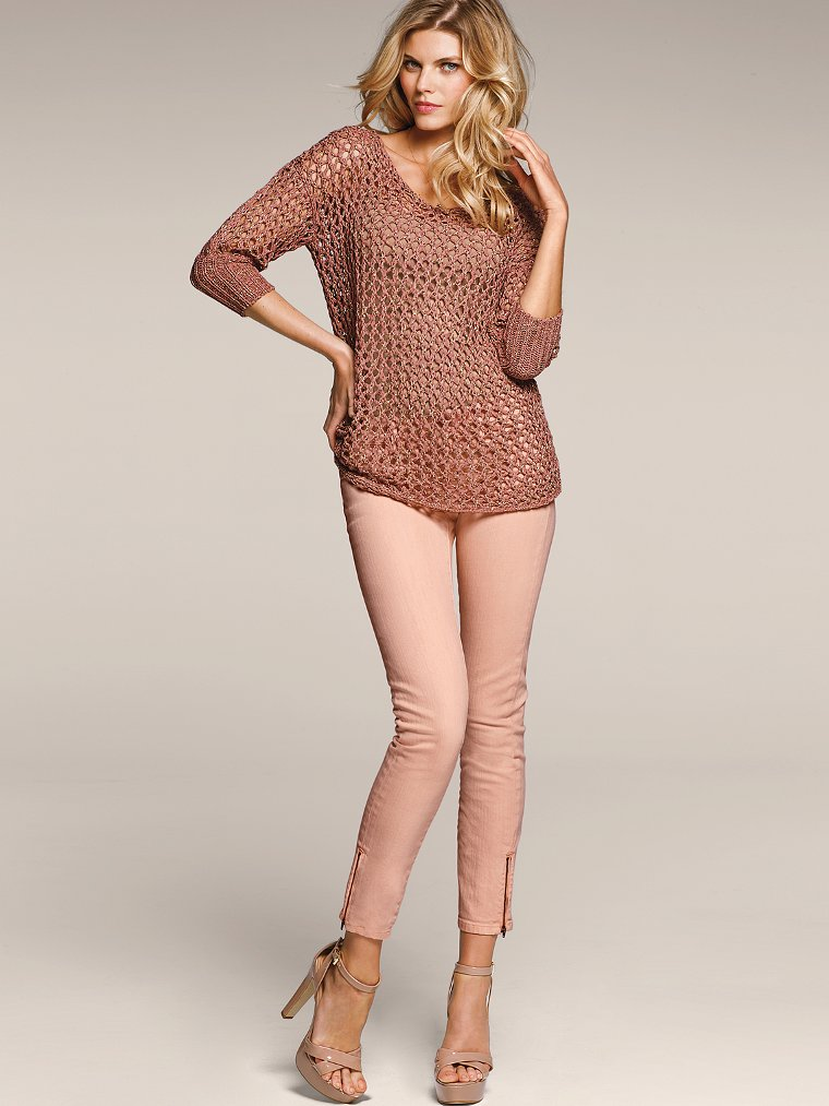 Victoria S Secret Models In Skinny Jeans