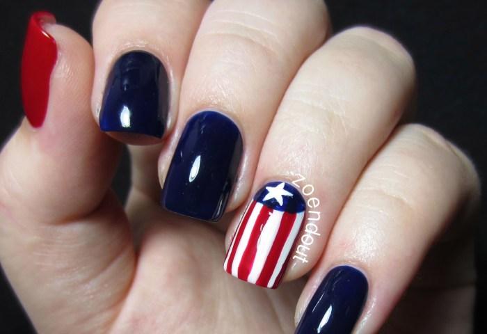 Nailspiration Happy Birthday America