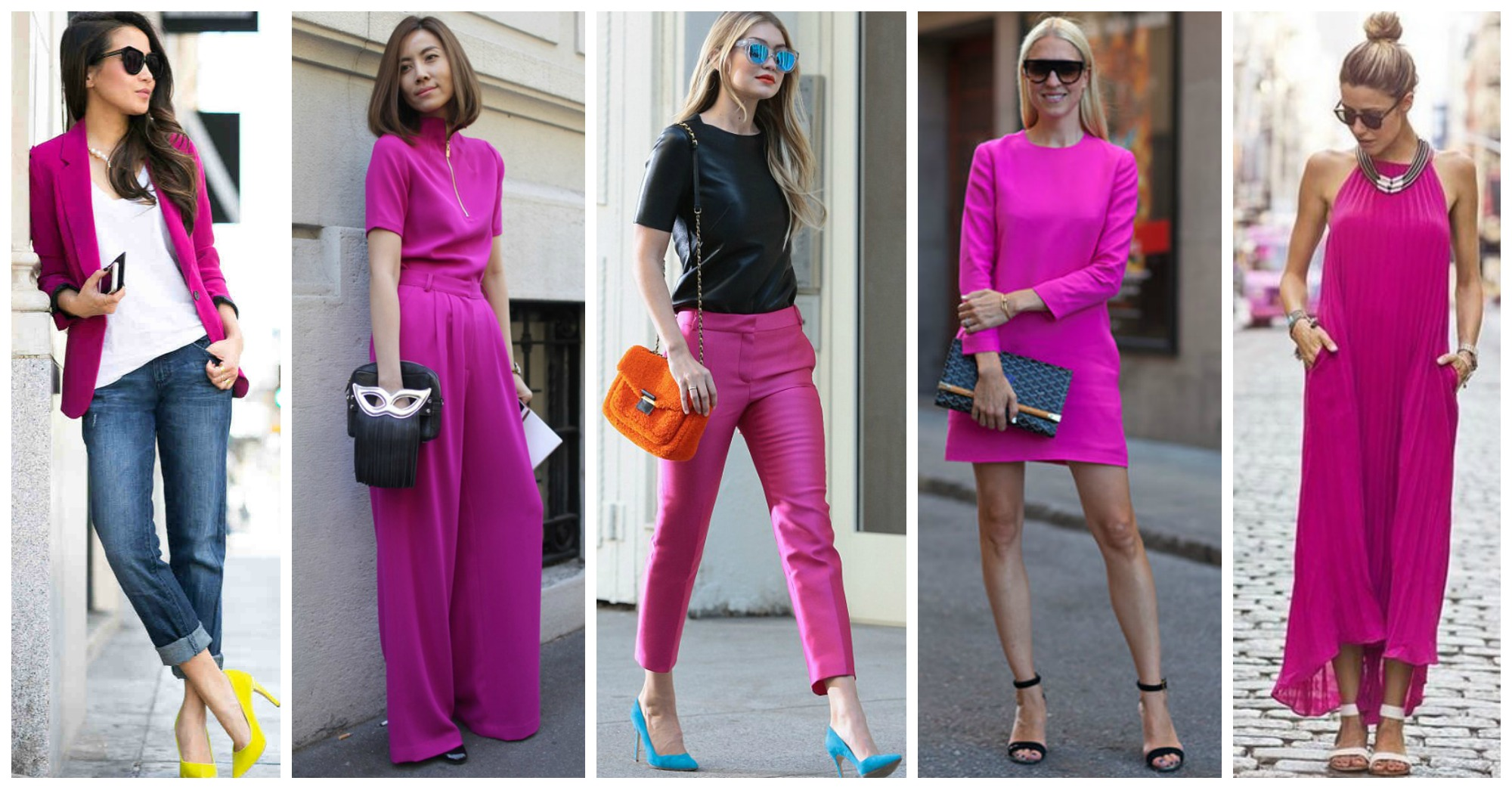 10 Chic Ideas To Wear Magenta Right Now