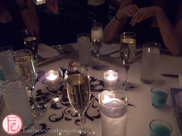Champagne & shots at OYA Restaurant
