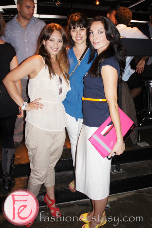 Cory Lee (Miss Oh, Degrassi) and Inga Cadranel (Aife or Saskia in Lost Girl and Detective Angela Deangelis in Orphan Black) at Mingle for a Mission