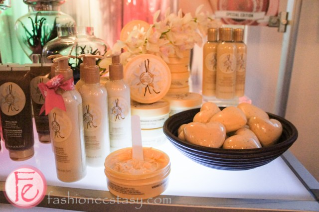 The Body Shop Vanilla Bliss collection