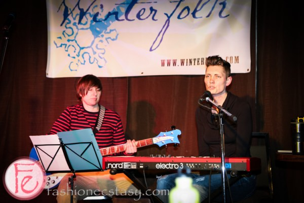 Winter Folk music festival launch - Dinah Thorpe