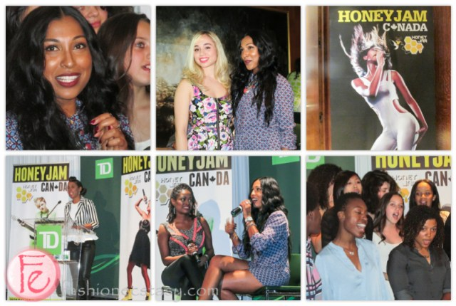 Melanie Fiona (top left & mid), Ebonnie Rowe (bottom left), Lisa Michelle & Melanie Fiona (mid), participants (bottom right)