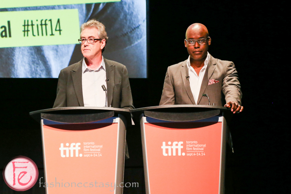 TIFF 2014 press conference Piers Handling and Cameron Bailey