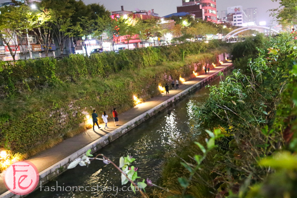 Cheonggye River/ Cheonggyecheon seoul