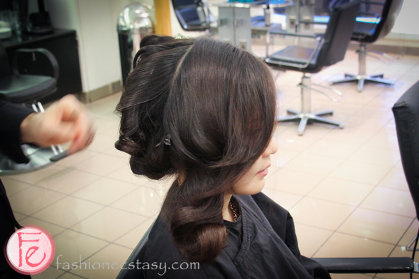 Vidal Sassoon Salon Blow and Style Polished Wave tutorial