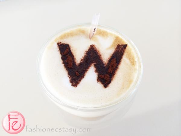 W Hotel Seminyak cappuccino