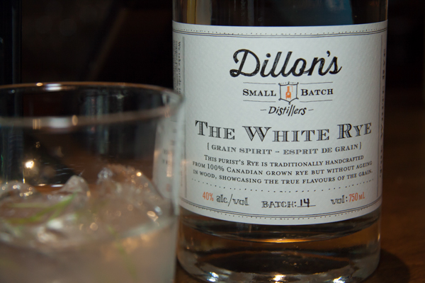 Yellow Brick Road featuring Dillon's White Rye, dandelion & burdock, and a dash of vinegar